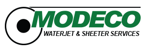 Modeco - Waterjet and Sheeter services in Berkshire County logo